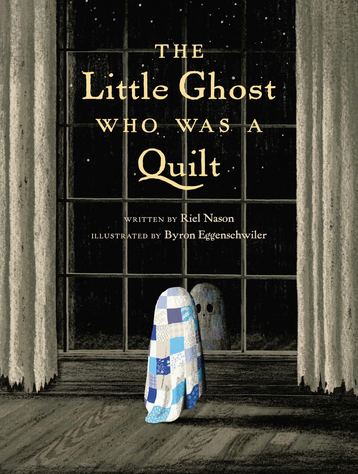 The Little Ghost Who Was a Quilt – book cover image