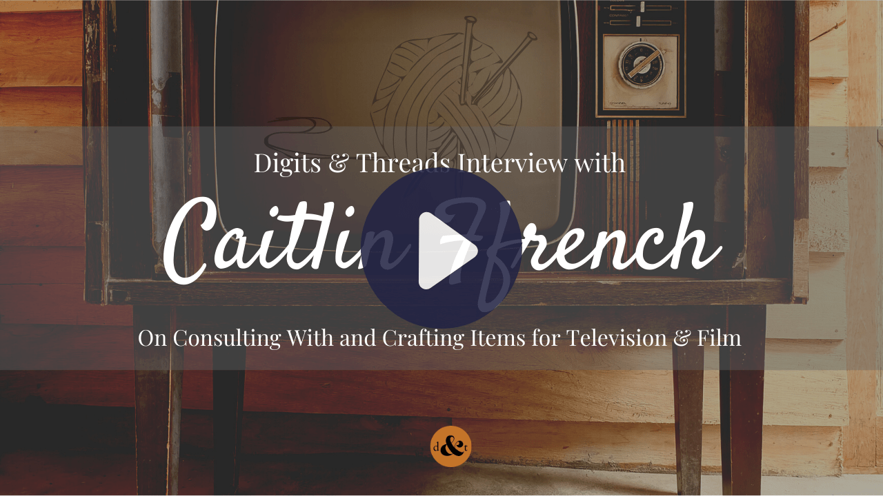 Watch: Artist Caitlin Ffrench on Knitting & Sewing for TV