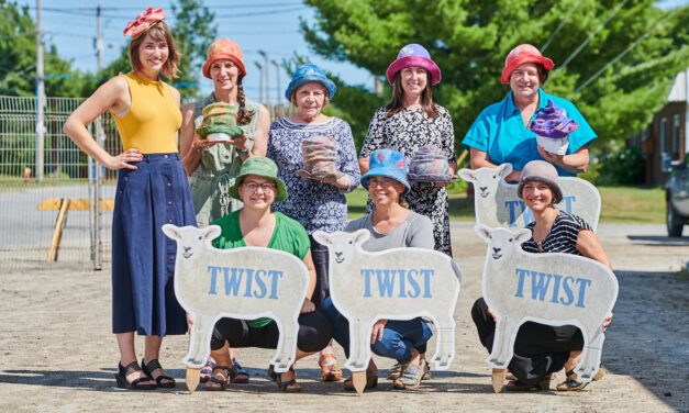 Virtual Tourism Time Machine: Twist Fibre Festival