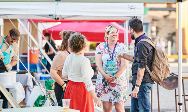 From TV Production to Fibre Festival: Amelie Blanchard's Path to Twist Festival