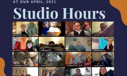 Learn & Share about Natural Dyeing at April Studio Hours