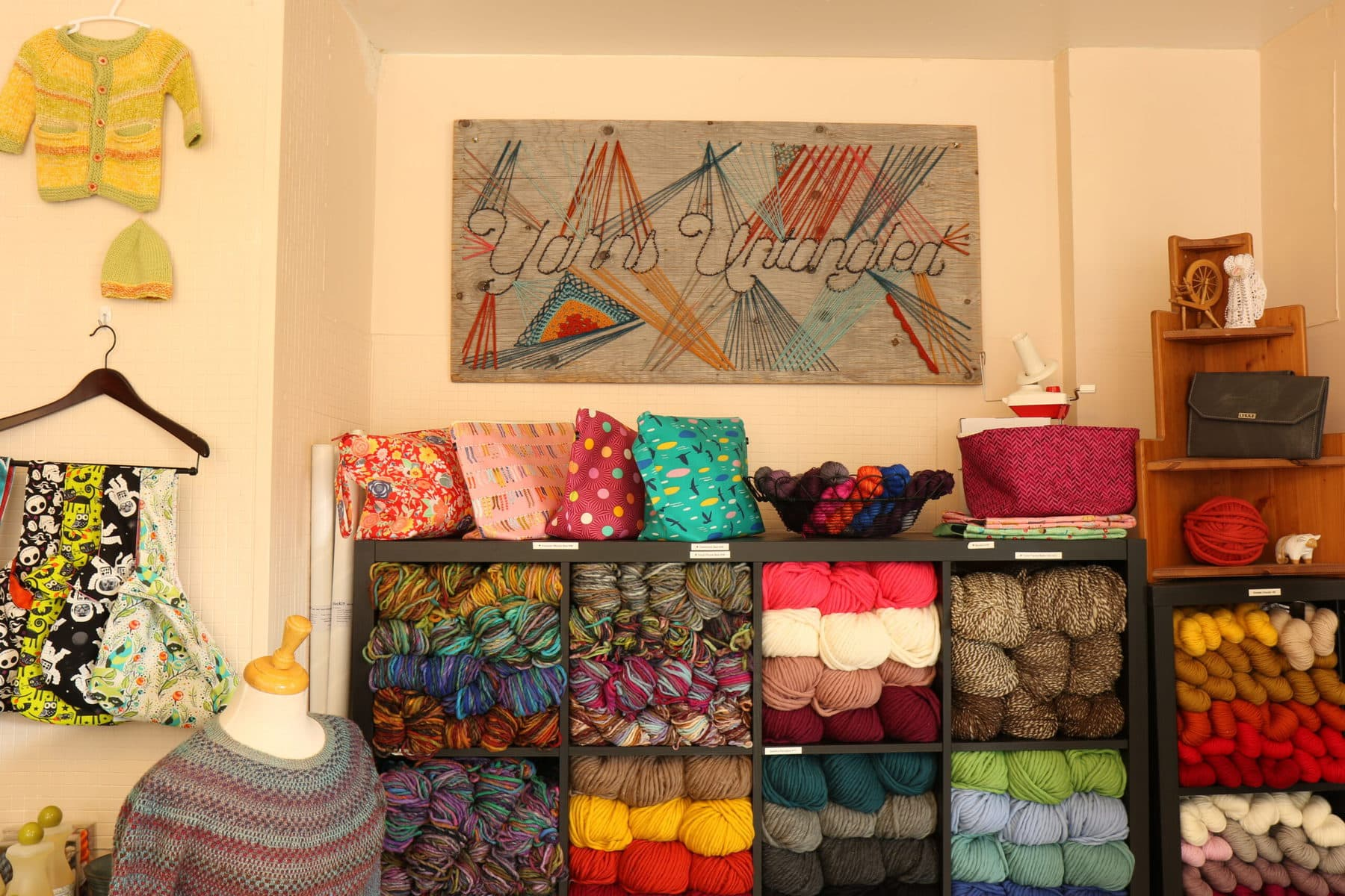 Community Hub for a Solitary Pursuit: Running a Yarn Store in a Pandemic